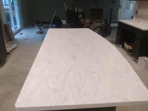 Granite Kitchen Island installation